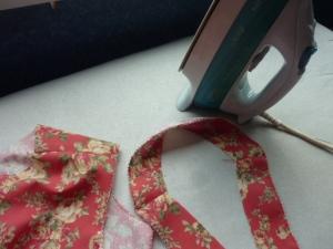 repassage du tissu